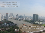 Rent Condo Supalai River Place - Near BTS Krung Thon Buri - The Mall Thapra, Sathorn Bridge