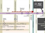 map and direction to fuse condo sathorn taksin